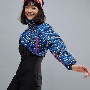 ASOS 4505 Ski Jumpsuit in Zebra Print